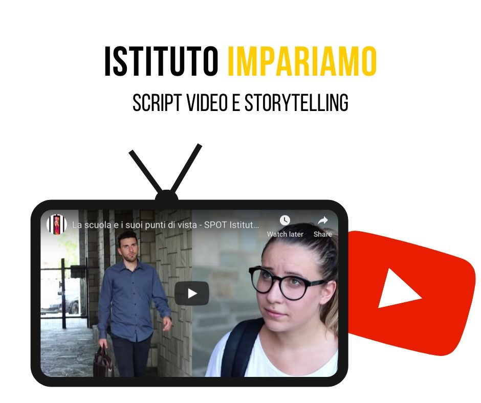 Script video per Istituto Impariamo